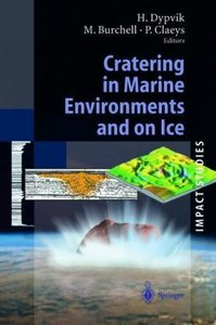 Cratering in Marine Environments and on Ice