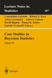Case Studies in Bayesian Statistics