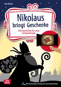 Nikolaus bringt Geschenke, mit 1 Buch, mit 1 Online-Zugang