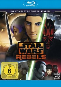 Star Wars Rebels. Staffel.3, Blu-ray