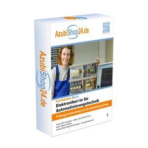 AzubiShop24.de Kombi-Paket Lernkarten Elektroniker/-in für Autom