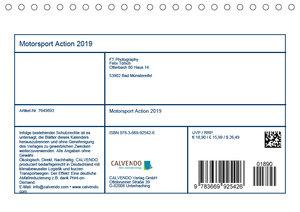 Motorsport Action 2019 (Tischkalender 2019 DIN A5 quer)