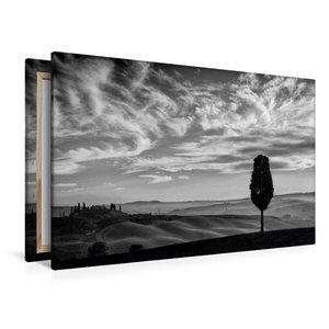 Premium Textil-Leinwand 120 cm x 80 cm quer Blick auf Belvedere