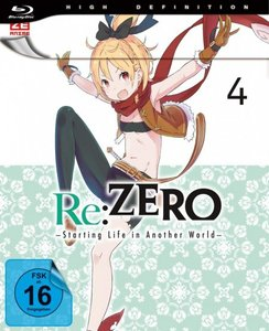 Re:ZERO - Starting Life in Another World - Blu-ray 4. .4, 1 Blu-