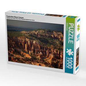 CALVENDO Puzzle Faszination Bryce Canyon 1000 Teile Lege-Größe 6