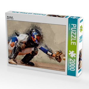 Baseball 2000 Teile Puzzle quer