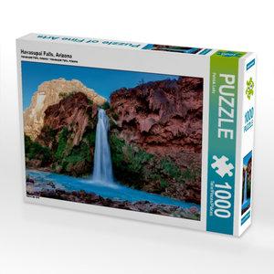 Havasupai Falls, Arizona 1000 Teile Puzzle quer