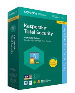 Kaspersky Total Security Upgrade, 1 Code in a Box