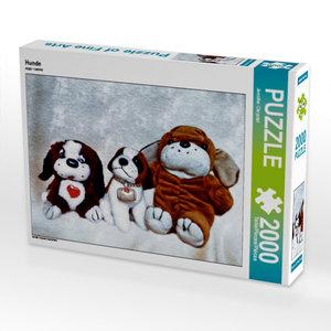CALVENDO Puzzle Hunde 2000 Teile Lege-Größe 90 x 67 cm Foto-Puzz
