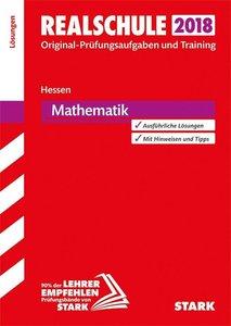 Abschlussprüfung Realschule Hessen 2018 - Mathematik Lösungsheft