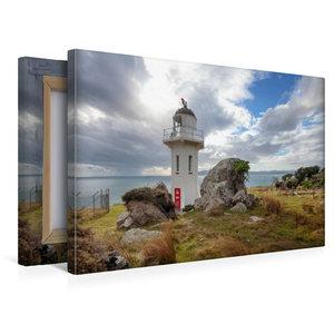 Premium Textil-Leinwand 45 cm x 30 cm quer Baring Head Lighthous