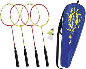 Schildkröt 970904 - Fun Sports, Federball Set, 4 Player,
