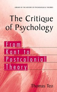 The Critique of Psychology