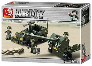 Sluban ARMY M38-B5900 - Panzerabwehrkanone, 138 Teile
