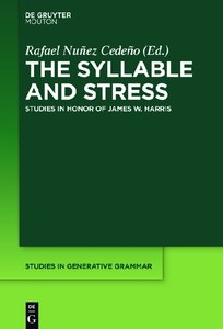The Syllable and Stress