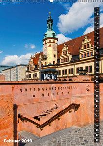 Mein Leipzig (Wandkalender 2019 DIN A2 hoch)