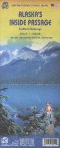 Alaska`s Inside Passage - Seattle to Anchorage 1 : 900.000