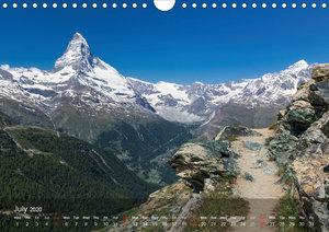 Awe-Inspiring Landscapes of the World: The Hiking Calendar / UK-