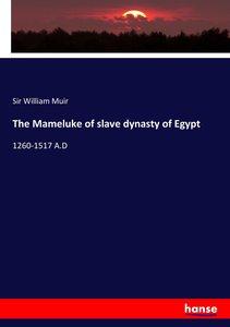 The Mameluke of slave dynasty of Egypt