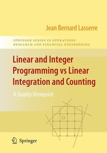 Linear and Integer Programming vs Linear Integration and Countin