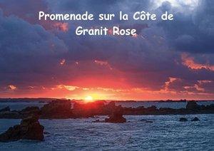 Promenade sur la Côte de Granit Rose (Livre poster DIN A4 horiz