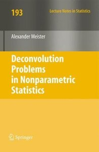 Deconvolution Problems in Nonparametric Statistics