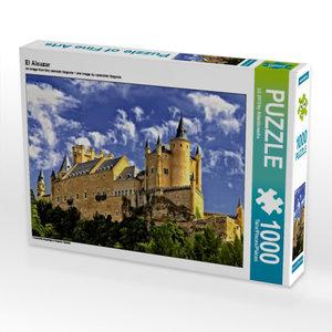 El Alcazar 1000 Teile Puzzle quer