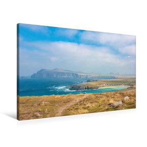 Premium Textil-Leinwand 90 cm x 60 cm quer Küste in der Nähe von