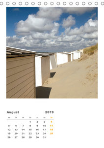 Hollands Strandparadies Zeeland (Tischkalender 2019 DIN A5 hoch)