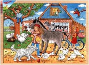 Peggy Diggledey, Peggy auf dem Bauernhof (Kinderpuzzle)