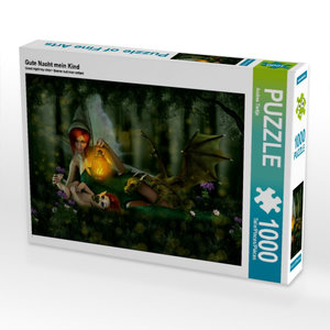 Gute Nacht mein Kind 1000 Teile Puzzle quer
