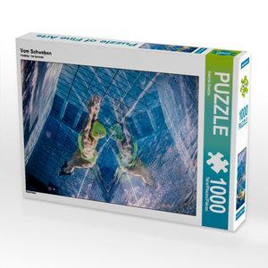 Vom Schweben 1000 Teile Puzzle hoch