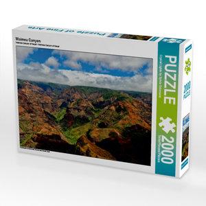 Waimea Canyon 2000 Teile Puzzle quer