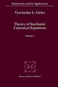Theory of Stochastic Canonical Equations