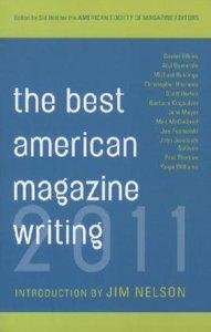 Best American Magazine Writing 2011