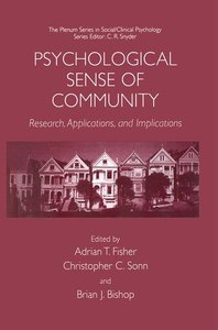 Psychological Sense of Community