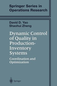 Dynamic Control of Quality in Production-Inventory Systems