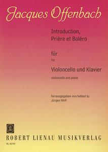 Introduction, Prière et Boléro