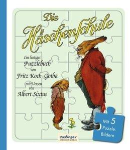 Die Häschenschule - Puzzlebuch