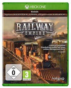 Railway Empire, 1 Xbox One-Blu-ray Disc