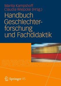 Handbuch Geschlechterforschung und Fachdidaktik