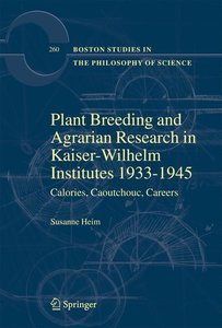 Plant Breeding and Agrarian Research in Kaiser-Wilhelm-Institute