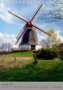 Windmühlen in Norddeutschland