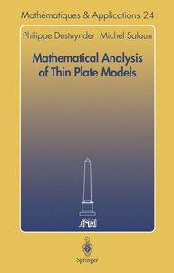 Mathematical Analysis of Thin Plate Models