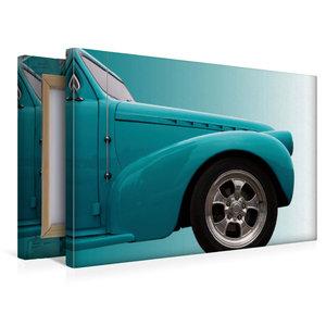 """Premium Textil-Leinwand 45 cm x 30 cm quer US-Autoklassiker \""""Ph"""