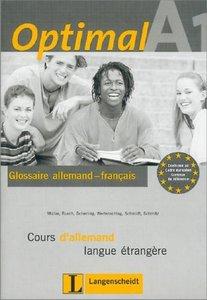 Optimal A1 - Glossar A1 Französisch
