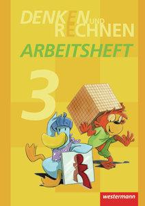 Denken und Rechnen 3. Arbeitsheft. Grundschule. Hamburg, Bremen,