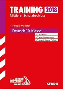 Training Mittlerer Schulabschluss NRW 2018 - Deutsch
