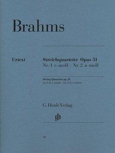 Streichquartette Op. 51 Nr. 1 c-moll Nr. 2 a-moll