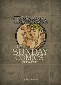 EDGAR RICE BURROUGHS TARZAN THE SUNDAY C